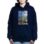 Large tall trees #odcctv Women's Hooded Sweatshirt