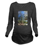 Large tall trees #odcctv Long Sleeve Maternity T-S