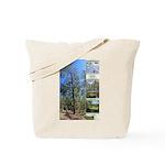 Large tall trees #odcctv Tote Bag