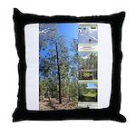 Large tall trees #odcctv Throw Pillow