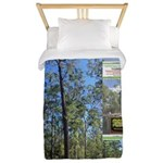 Large tall trees #odcctv Twin Duvet