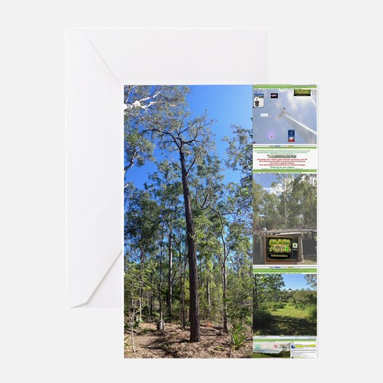 Large tall trees #odcctv Greeting Cards