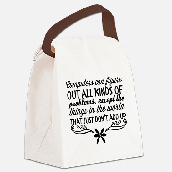 Funny All kinds Canvas Lunch Bag