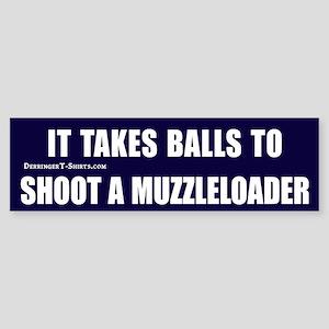 Muzzleloader Bumper Sticker