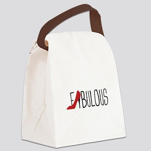 Fabulous Shoe Canvas Lunch Bag