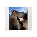 Sustainable Horse Throw Blanket