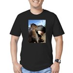 Sustainable Horse Men's Fitted T-Shirt (dark)