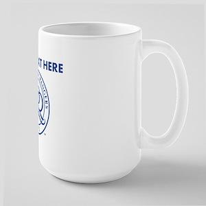 Personalized Newcastle 15 oz Ceramic Large Mug