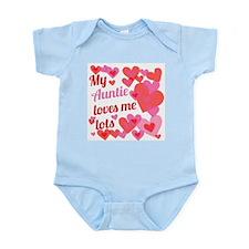 My Auntie Loves Me Lots Infant Bodysuit