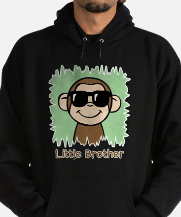 Little Brother Monkey Hoodie (dark)