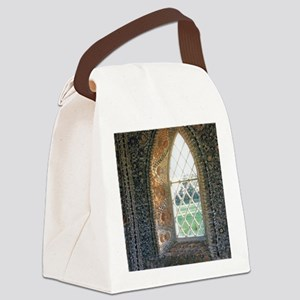 The Sacred Window Canvas Lunch Bag