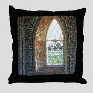 The Sacred Window Throw Pillow