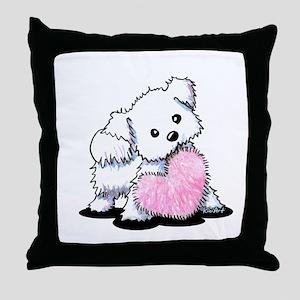 Heart & Soul Puppy Throw Pillow