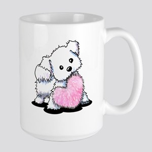 Heart & Soul Puppy Large Mug