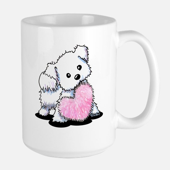 Heart & Soul Puppy Large Mug