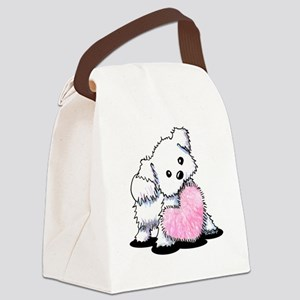 Heart & Soul Puppy Canvas Lunch Bag