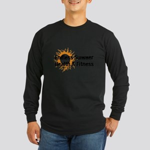 Endless Summer Health & Fitness Logo Long Sleeve T