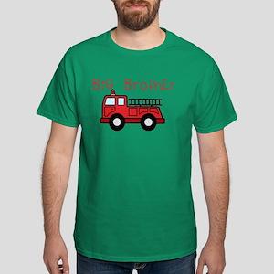 Big Brother Fire Truck Dark T-Shirt