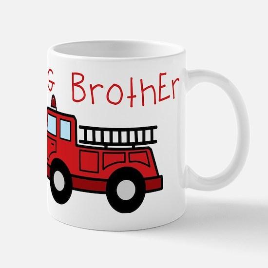 Big Brother Fire Truck Mug