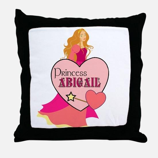 Princess Abigail Throw Pillow