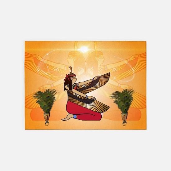 Isis the goddess of Egyptian mythology 5'x7'Area R