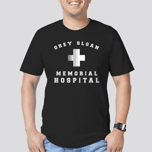 Grey Sloan Memorial Ho Men's Fitted T-Shirt (dark)