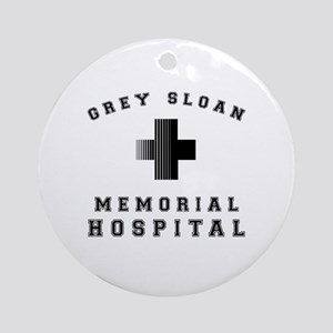 Grey Sloan Memorial Hospital Round Ornament