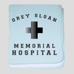 Grey Sloan Memorial Hospital baby blanket