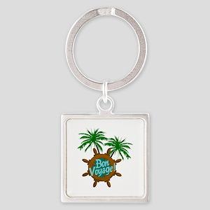 BON VOYAGE PALMS Keychains