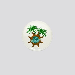 BON VOYAGE PALMS Mini Button
