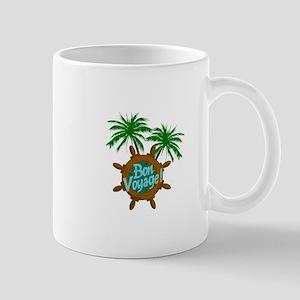 BON VOYAGE PALMS Mugs