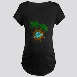 BON VOYAGE PALMS Maternity T-Shirt