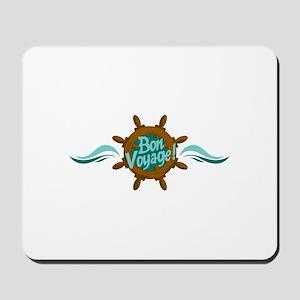 BON VOYAGE WAVES Mousepad