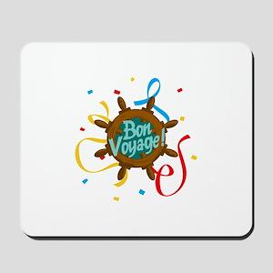 BON VOYAGE CONFETTI Mousepad