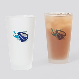 POWERBOAT Drinking Glass