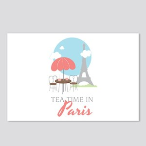 Tea Time in Paris Postcards (Package of 8)