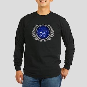 Star Trek UFP silver Long Sleeve T-Shirt
