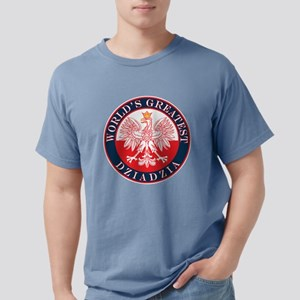 Round World's Greatest Dziadzia T-Shirt
