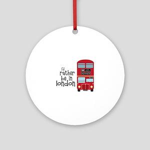 In London Ornament (Round)