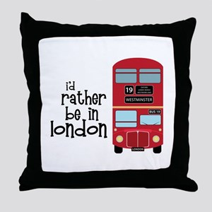 In London Throw Pillow