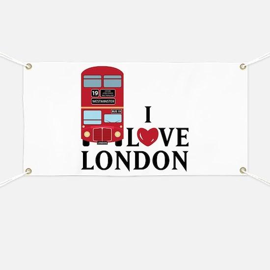 I Love London Banner