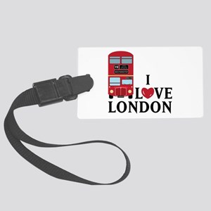 I Love London Luggage Tag