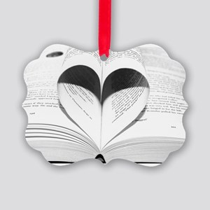 For the Love of Books Ornament