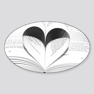 For the Love of Books Sticker