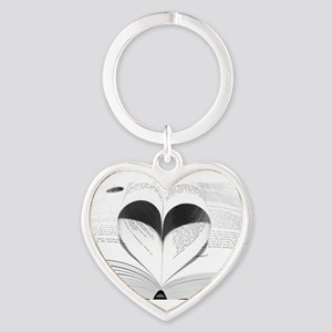 For the Love of Books Keychains