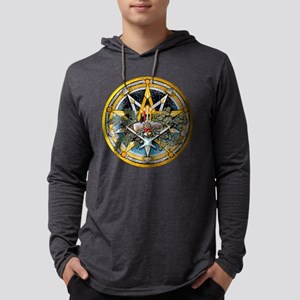 Yule Pentacle Long Sleeve T-Shirt