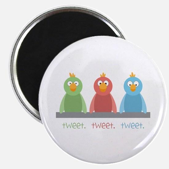 Tweet. Tweet. Tweet Magnets