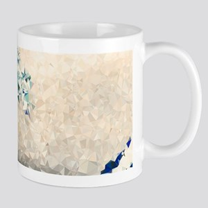 Great Wave Off Kanagawa Hokusai Triangles Mugs