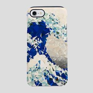 Great Wave Off Kanagawa Hokusai Triangles iPhone 7