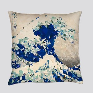 Great Wave Off Kanagawa Hokusai Triangles Everyday